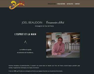 Joël Beaudoin, ferronnier d'Art